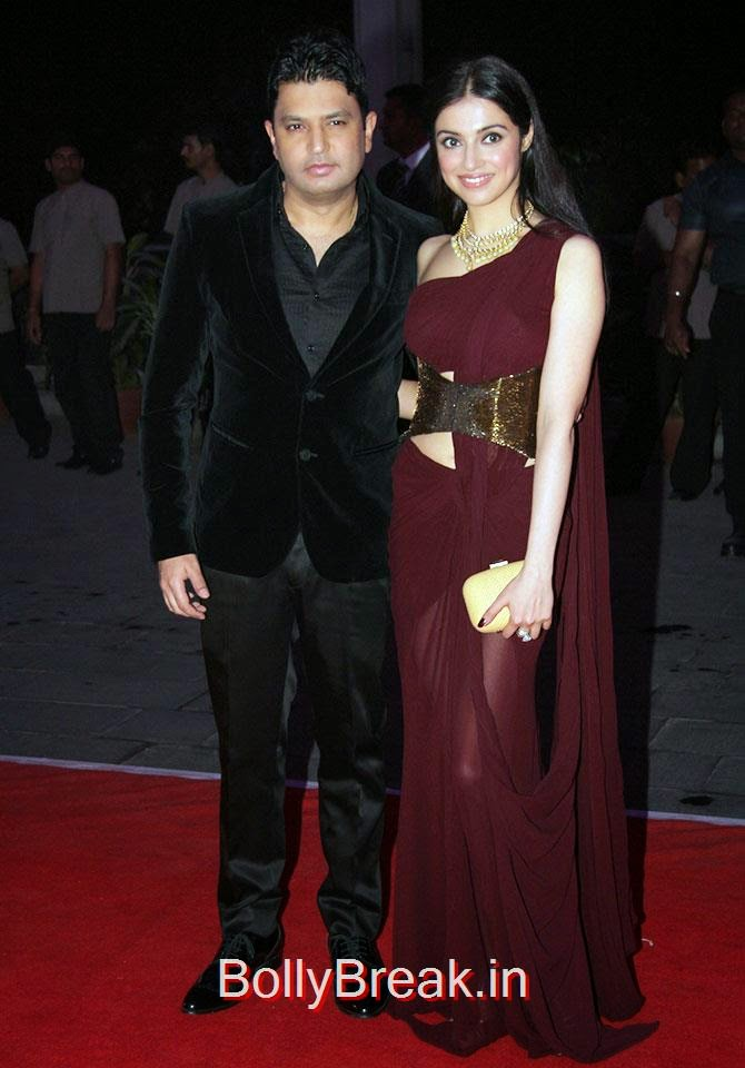 Bhushan Kumar and Divya Khosla, Celebs At Kush Sinha's reception
