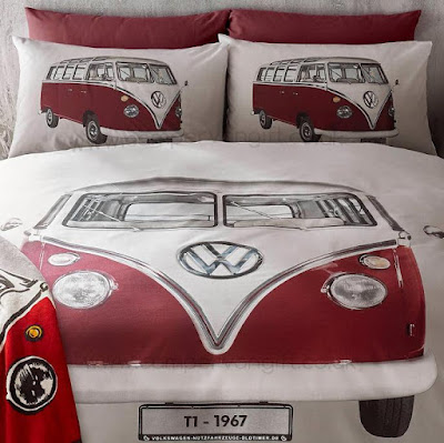Campervan Duvet and Pillow Case Set