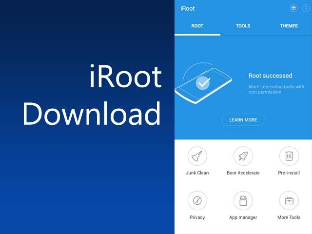 برنامج رووت الهاتف iRoot