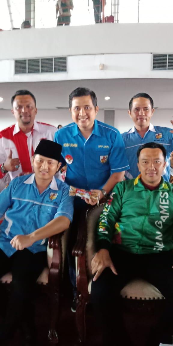 DEPIPUS PEMUDA LIRA HADIRI PELANTIKAN DPD KNPI JAWA TIMUR  2018-2021