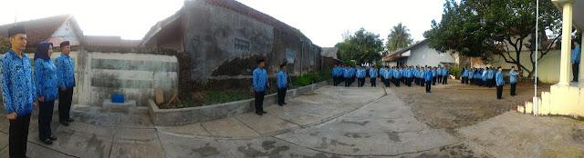 Lapangan upacara HUT RI ke-72 BPHW IV.