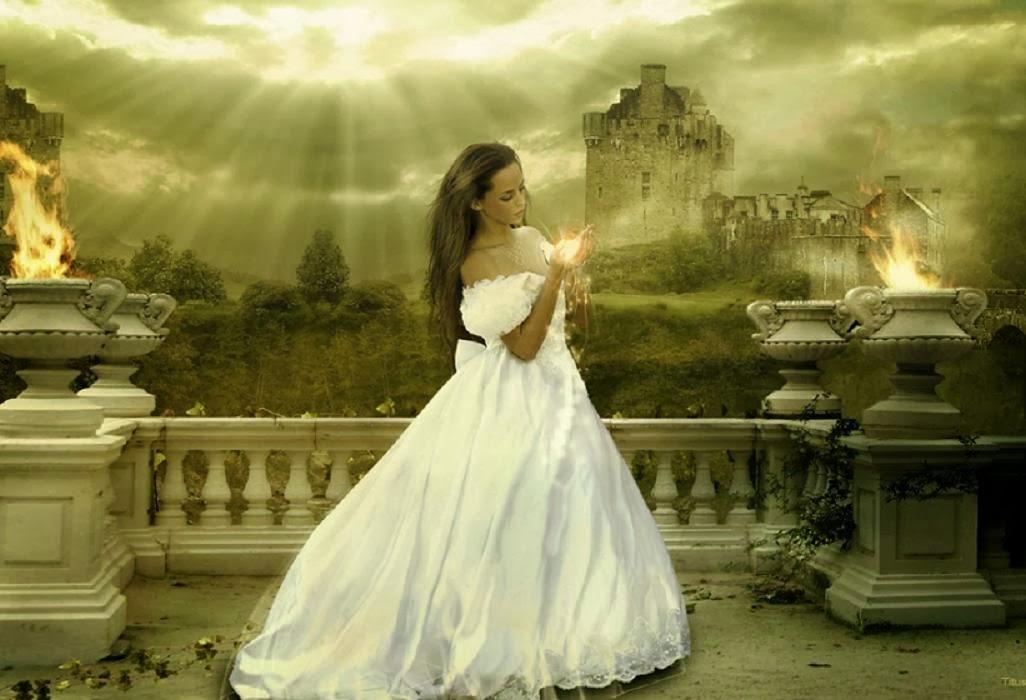 La Dama De Vestido Blanco Vestidos Cortos Populares