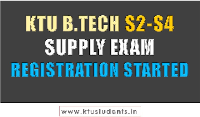 ktu s2 supply s4 supply