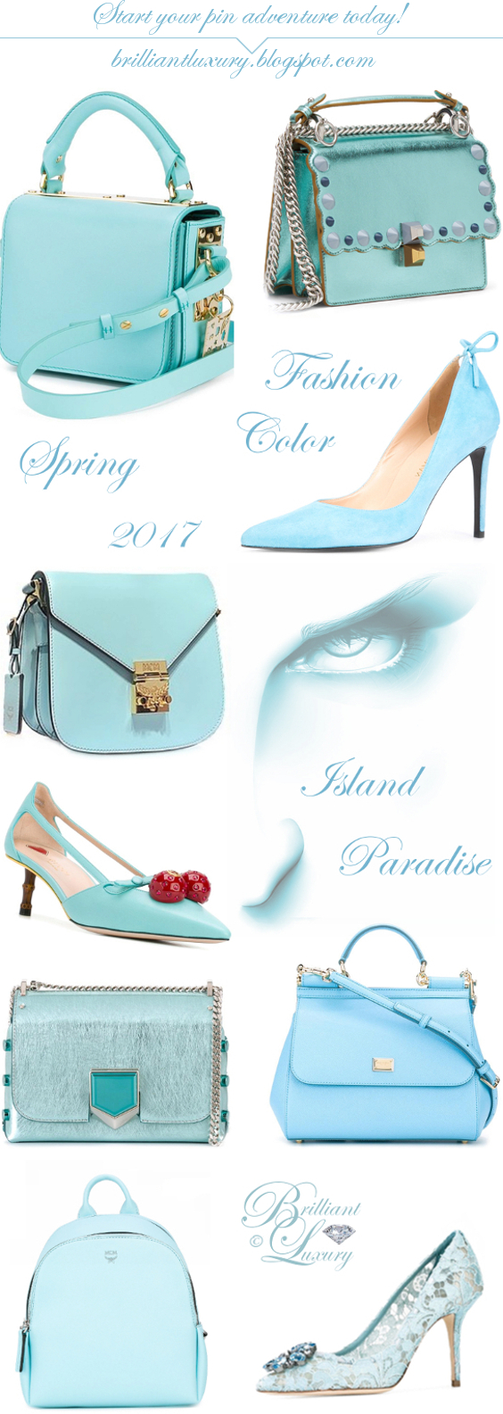 Brilliant Luxury ♦ Fashion Color Spring 2017 ~ island paradise