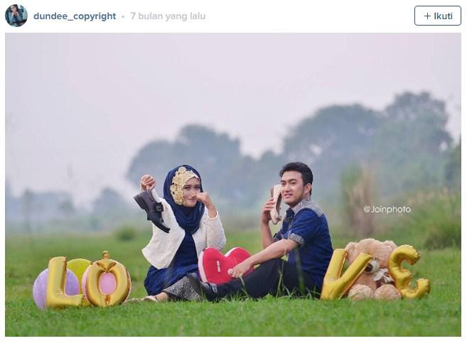 Foto Prewedding Instagram Paling Unik Bisa Anda Contoh