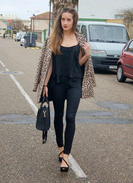 TOTAL BLACK & LEOPARD