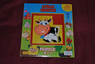 Carte puzzle Animale domestice