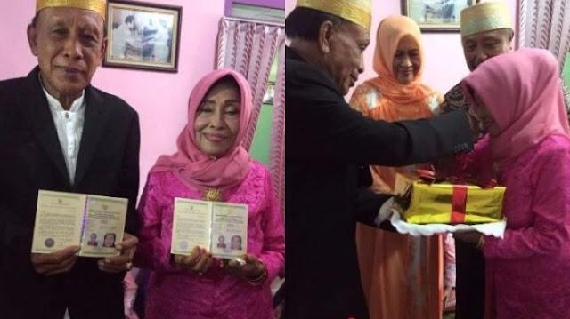 Tak Kunjung Menikah, Heboh Wanita ini Temukan Jodoh di Usia 71 Tahun!