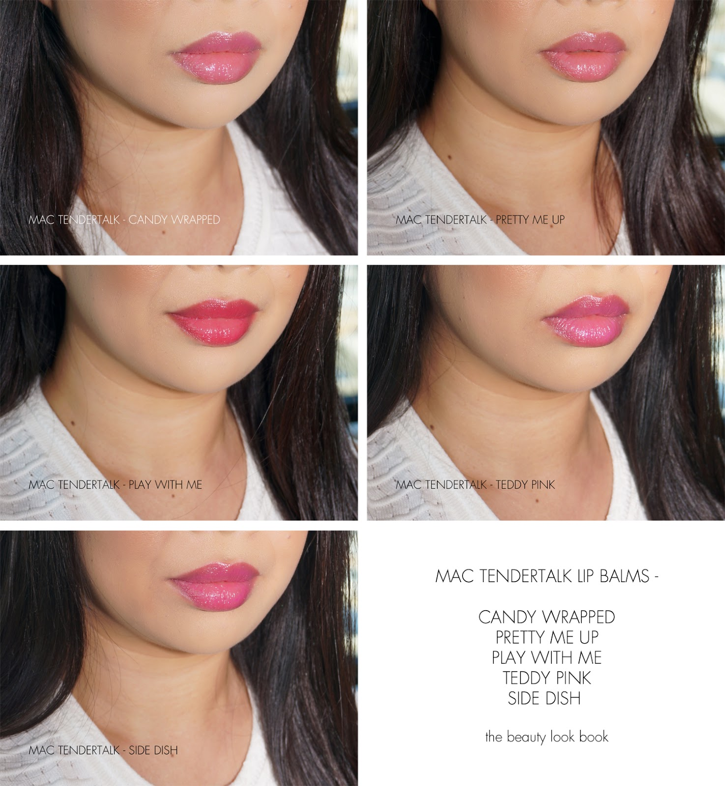 The Beauty Look Book Mac Tendertalk Lip Balm Review