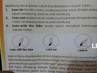 3 Teknik Posisi Menikung Sepeda Motor