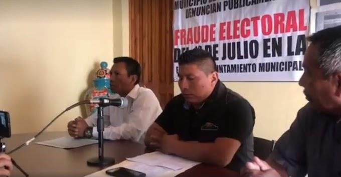 Organizaciones de Ocosingo dan Ultimátum al IEPC en Chiapas tras fraude electoral el Ocosingo.