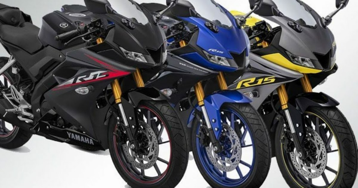 Yamaha Introduced Three New Colours For R15 V3 launch - Bike