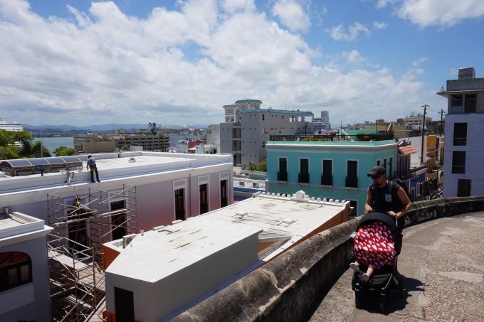 Old San Juan - lasten kanssa Karibian risteilyllä