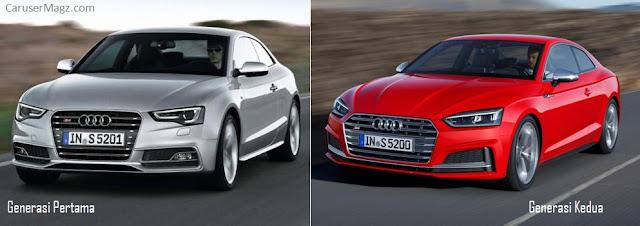 Audi A5 Perubahan pada Facelift 2016
