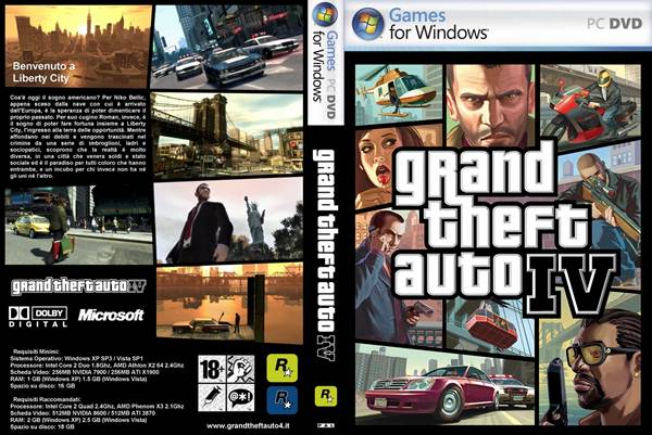 pc games  GTA 4 Grand Theft Auto IV PC Game Free Download GTA 4 Grand Theft Auto IV PC Game Free Download