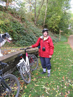 Cycling on the Monsal Trail