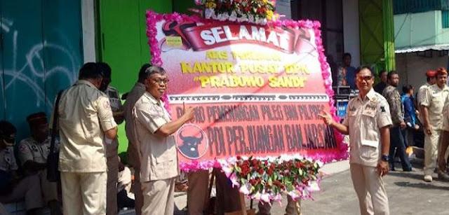 BPN Prabowo-Sandi Buka Posko Dekat Rumah Jokowi, PDIP Kirim 'Sapaan' Cara Banteng