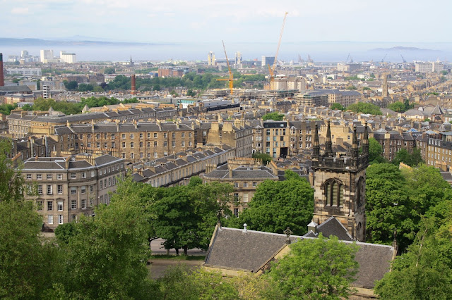 edinburgh calton hill view city
