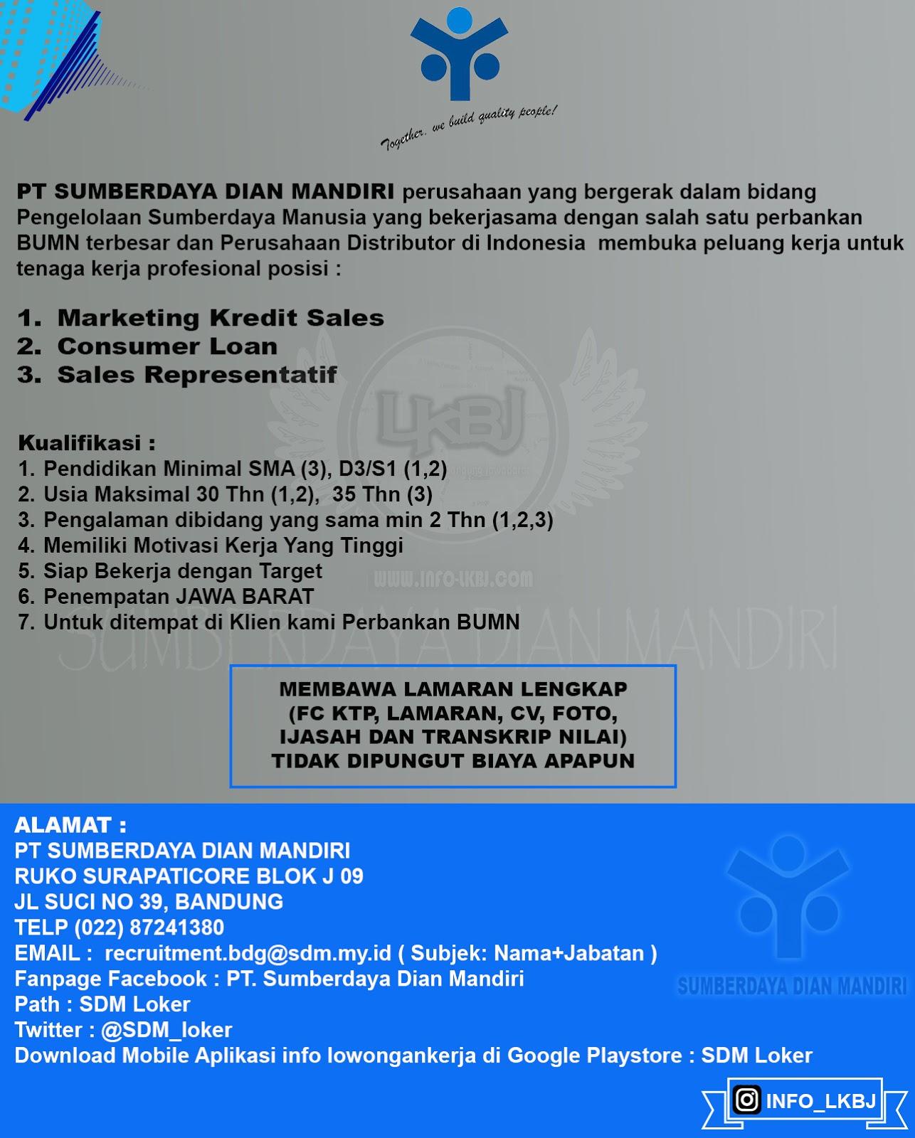 Lowongan Kerja Elzatta Bandung