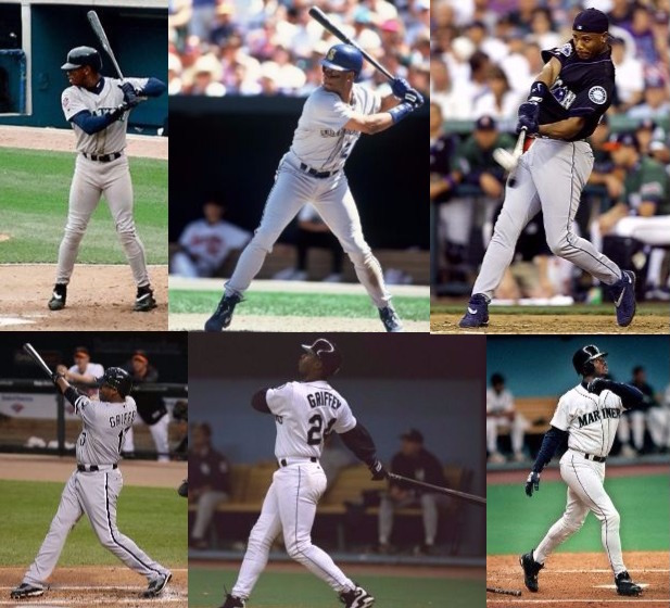05a1a46733 There is no athletic sequence I take more joy from watching repeatedly than Ken  Griffey Jr. hitting home runs. I have spent hours upon hours enamored by  the ...