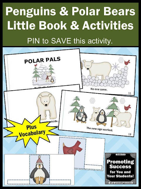 penguins and polar bears activities for kids