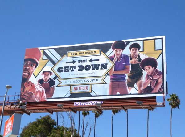 Get Down series premiere billboard