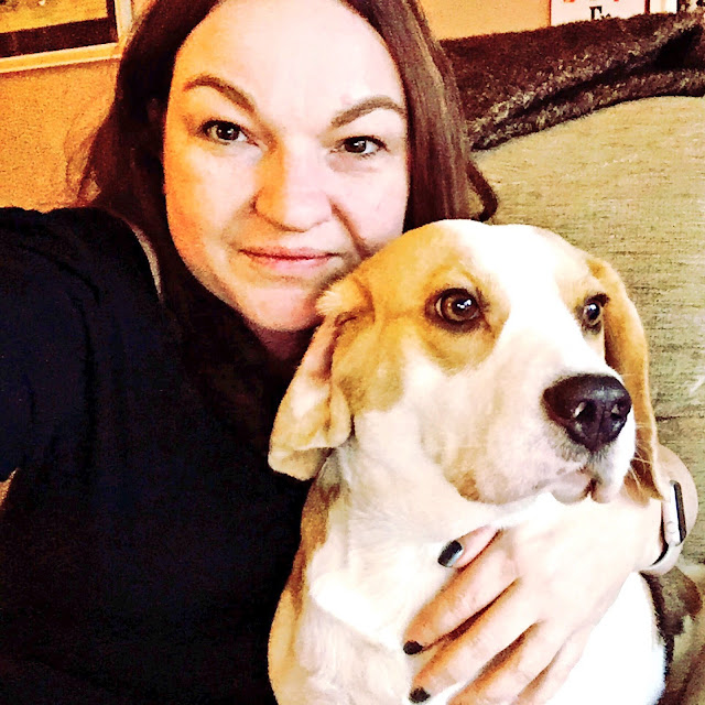 Mandy Charlton, Photographer, writer, Blogger and Holly Bobbins the Beagle