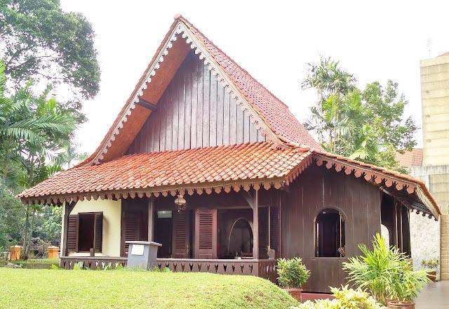 Rumah Kebaya, Rumah Adat Betawi Provinsi Jakarta
