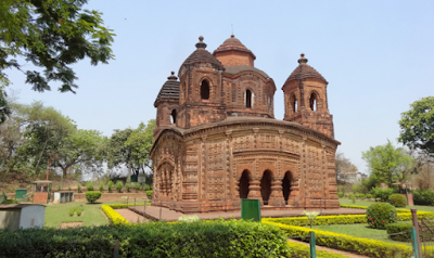Bishnupur Temple: Ancient temple with rich architecture of 15th Century A.D.