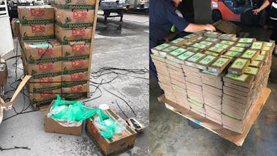 Freeport Texas Prison: $18 Million worth of Coke in Donated Bananas