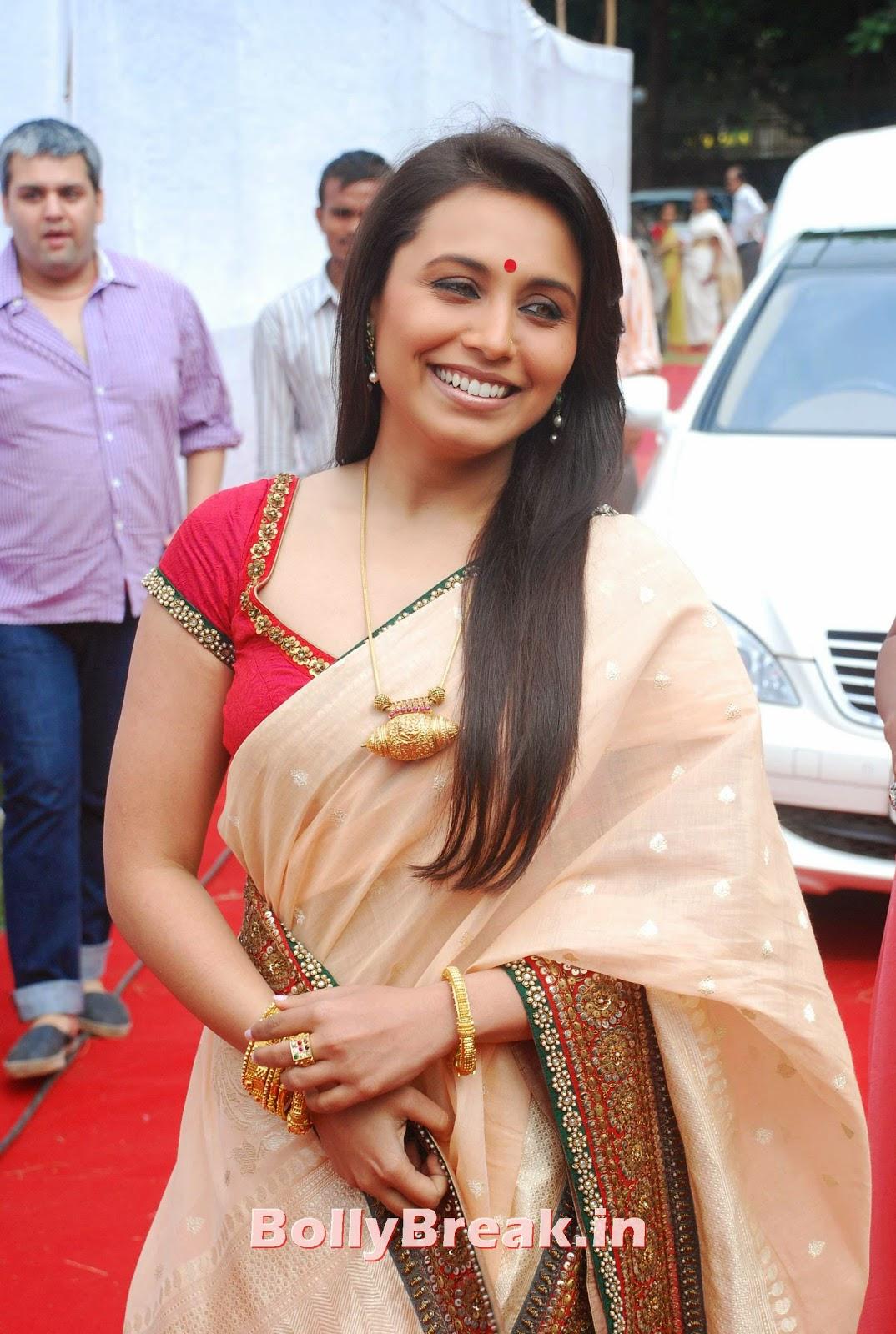 Rani Mukherjee Bengali Saree Hot Slike v visoki ločljivosti - 5 Slike-5695
