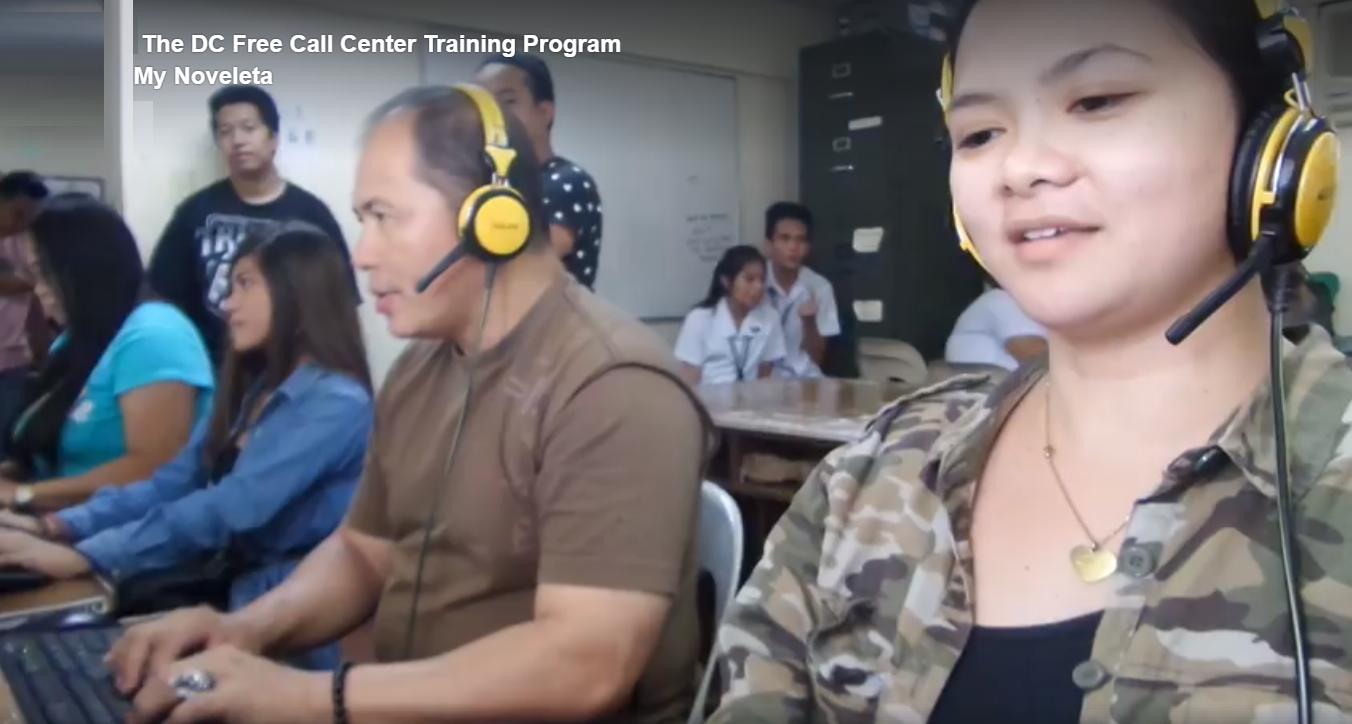 NOVELETA TOWN: DC Free Call Center Training Program Directory