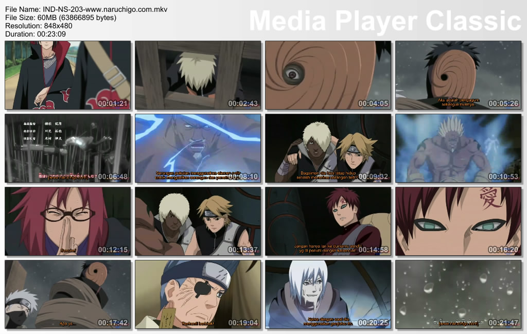 Download naruto episode 203.