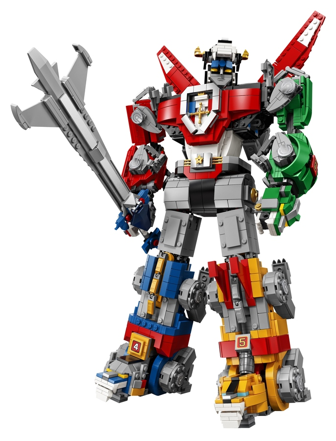 Voltron LEGO uscita dimensioni prezzo