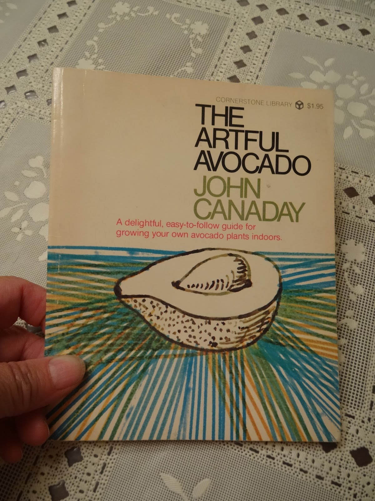On One Of My Trips To The Store I Became Distracted By This Adorable Little Book Artful Avocado Art Critic Historian Author John Canaday