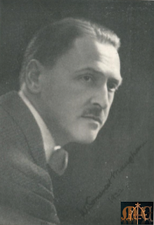 W. Somerset Maugham in 1922 - from Authors of the Day