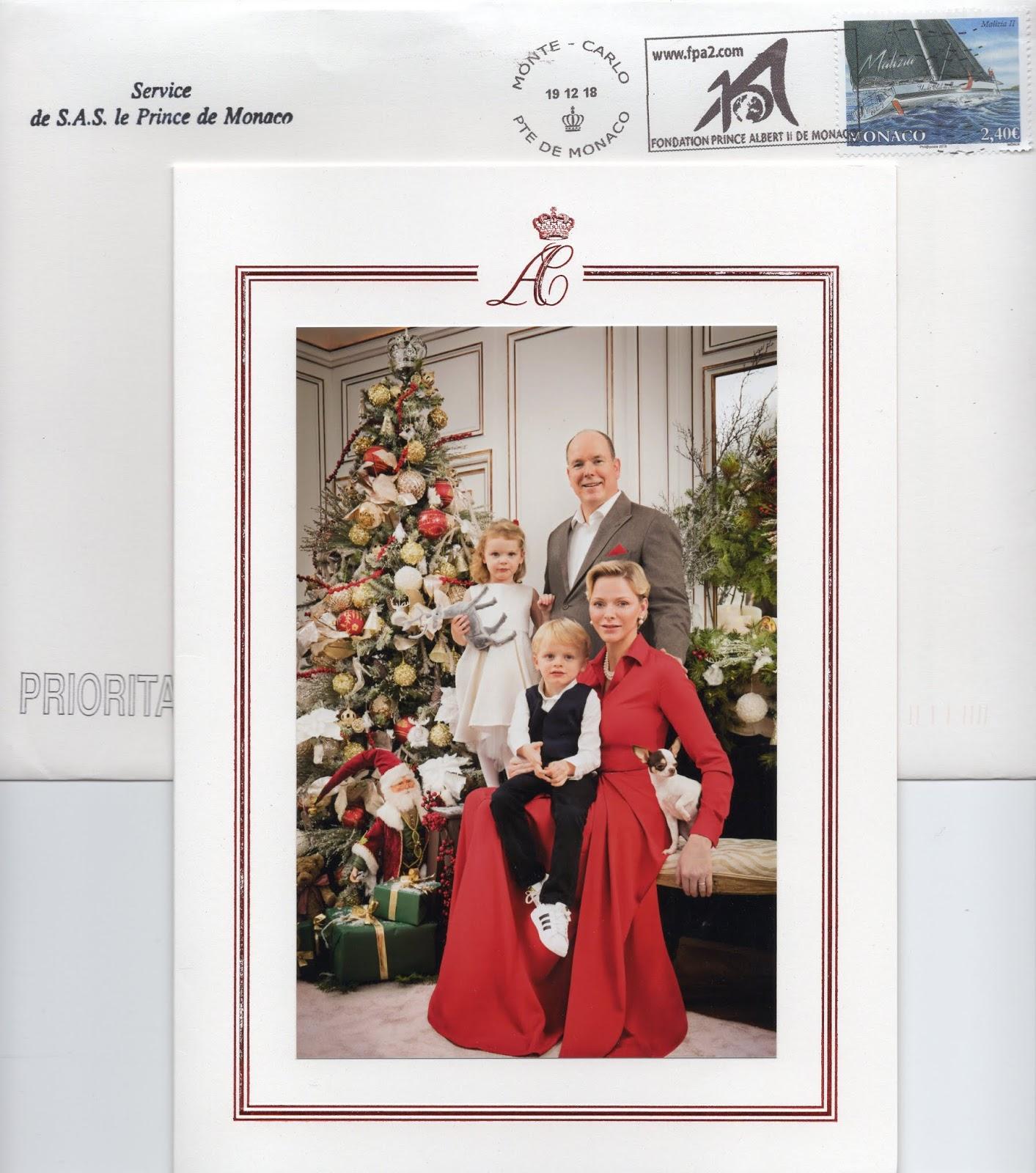 Weihnachtsgrüße Per Post.Königlicher Beobachter Königliche Post Weihnachtsgrüße Aus Monaco