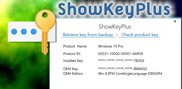 Resultado de imagen para ShowKeyPlus