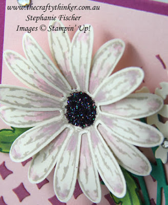 Floral Card, Pattern Party masks, Daisy Delight, Bouquet Bunch, #thecraftythinker, Stampin Up Australia Demonstrator, Stephanie Fischer, Sydney NSW