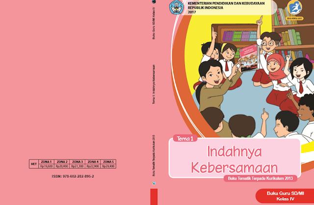 Buku K13 Kelas 4 SD Revisi 2017 Semester I