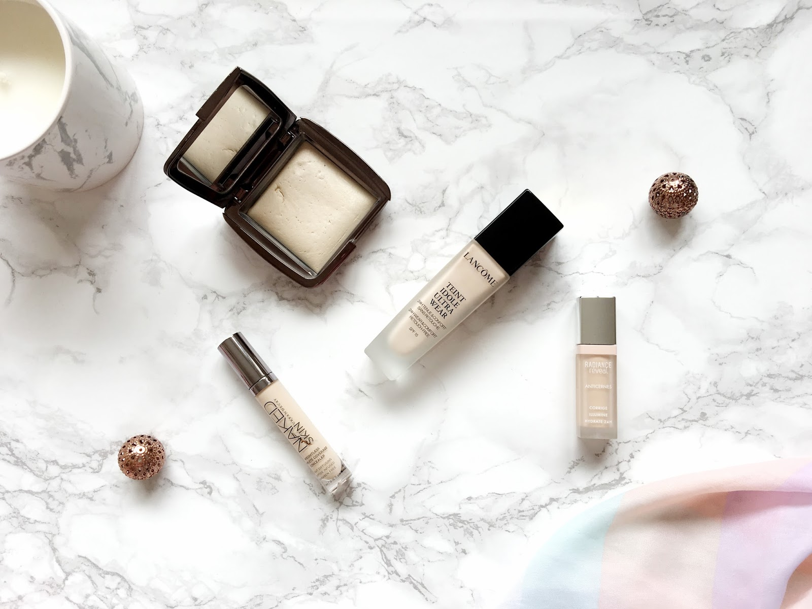 Four Products for a Flawless Base