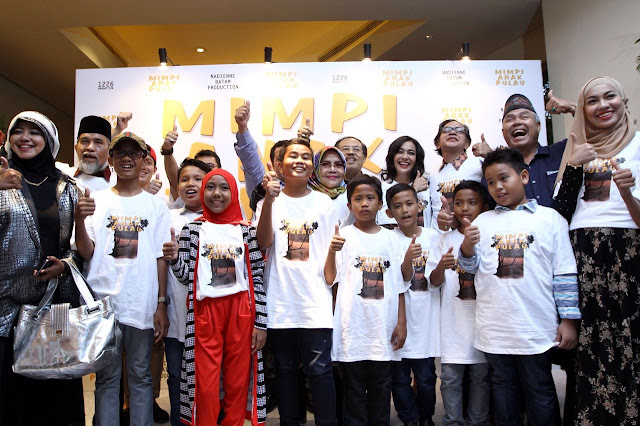 "Press Conference film ""MIMPI ANAK PULAU"""