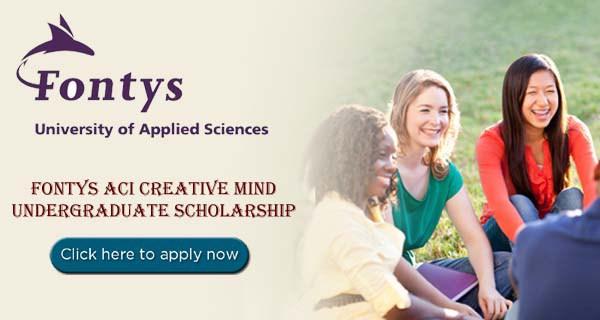 Fontys ACI Creative Mind Scholarship