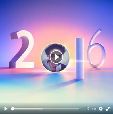 قم بعمل فديو استعراض لعام 2016 في الفيس بوك