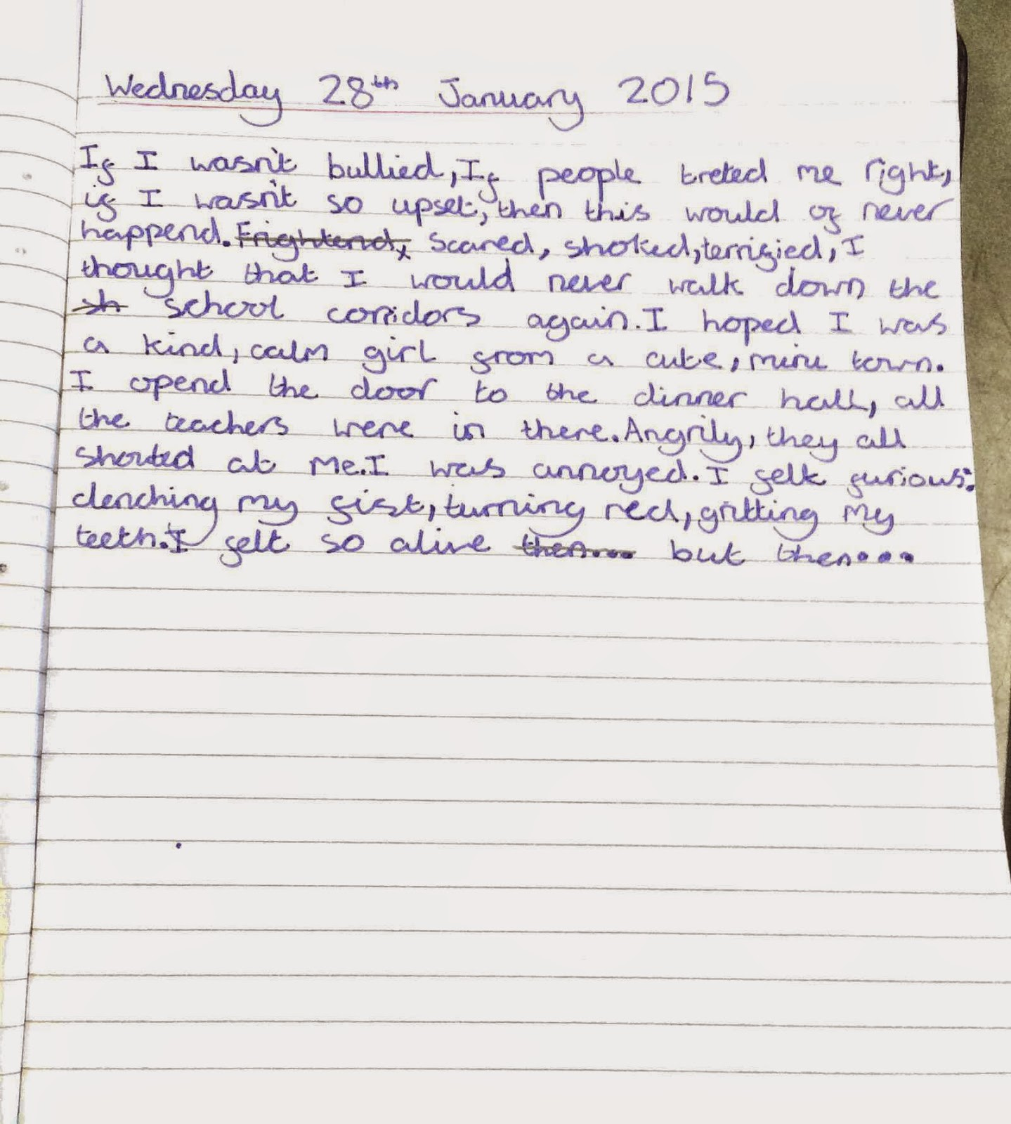 Features of writing a diary entry ks2 sats