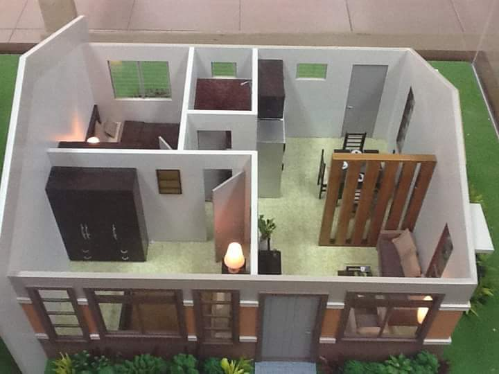 Sample 3D Floor Plan Of One Of Their Houses. Exterior Path Way Design
