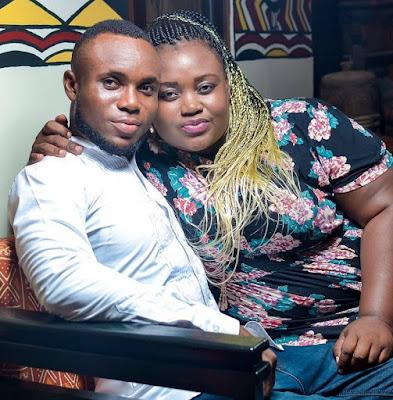 muscular ghanaian guy marries fat lady
