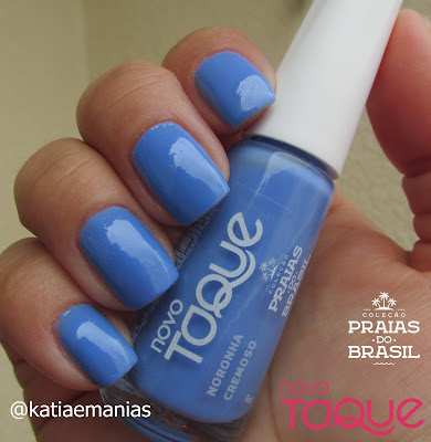 Novo Toque, Azul, carimbada, Born Pretty, La Femme, Nail Plus, katiaemanias,