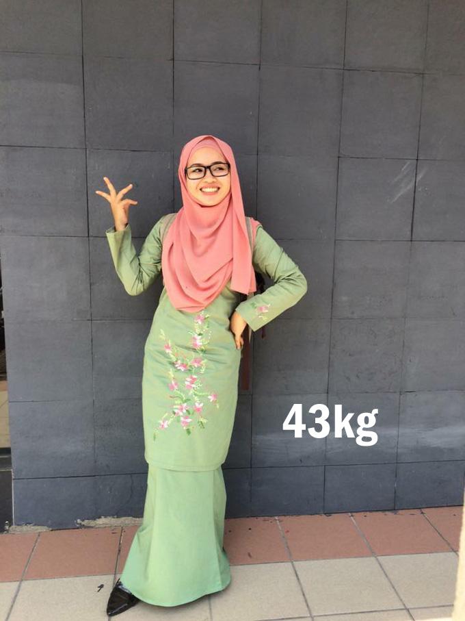 Rahsia Kurus Dari 59kg Menjadi 43kg Dalam Sebulan