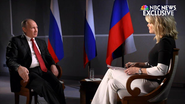 NBC's newest anchor Megyn Kelly asks Putin tough questions, but show still has tough road ahead